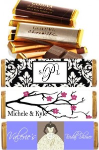 Godiva Candy Bar Favors